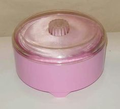 My grandmother had this powder puff. I think EVERY Grandmom did. :)