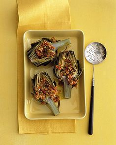 Steamed Artichokes with Poached Eggs and Smoked Salmon | Recipe ...