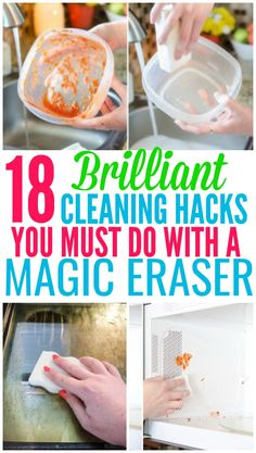 18 Magic Eraser Hacks That Will Blow Your Mind - Organization Obsessed