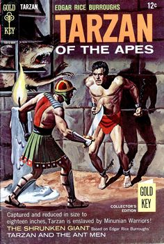 Tarzan of the Apes comic book.