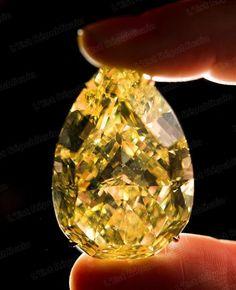 France - Monde | Vente du plus gros diamant jaune au monde - L'Est Républicain