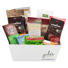 Culinary breakfast basket 8799 by jules baskets organic sweets treats organic baskets 9799 by jules baskets treats snacks organic gift basketsglutenfreesweet negle Image collections