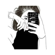 outlines We Heart It ❤ liked on Polyvore featuring fillers and outline