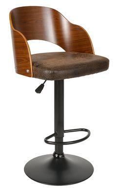 barkruk met rug en armleuningen leer in hoogte verstelbaar barkruk keuken pinterest. Black Bedroom Furniture Sets. Home Design Ideas