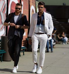 Street fashion: Firenze Men's Fashion Week wiosna-lato 2016, fot. Imaxtree