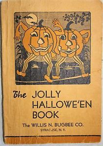 Vintage Halloween Book ~ The Jolly Hallowe'en Book
