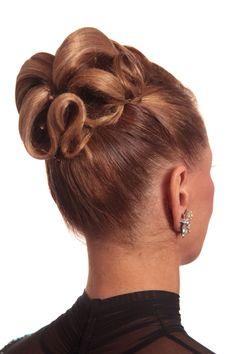 Latin Hairstyles, Cool Hairstyles, Ballroom Dance Hair, Competition Hair, Hair Art, Hair Hacks, Bridal Hair, Hair Inspiration, Natural Hair Styles