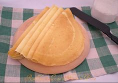 Crepes salate,ricetta base