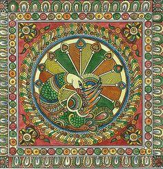 Ancient Indian Art, Album Art, Indian Traditional Paintings, Gond Painting, Tribal Art, Madhubani Art, Dot Art Painting, Madhubani Painting, Folk Art Painting