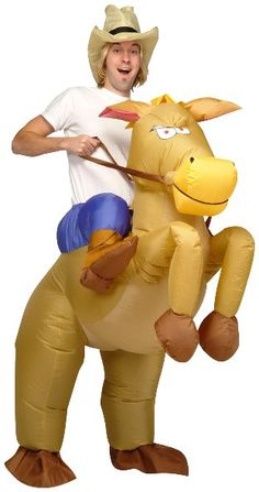 Funny Halloween Costume Riding a Donkey Costumes or Riding a Bull Costumes