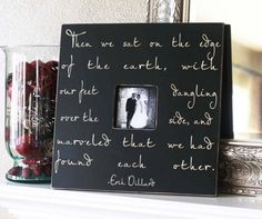 Wedding or Anniversary Fancy Frame Quote