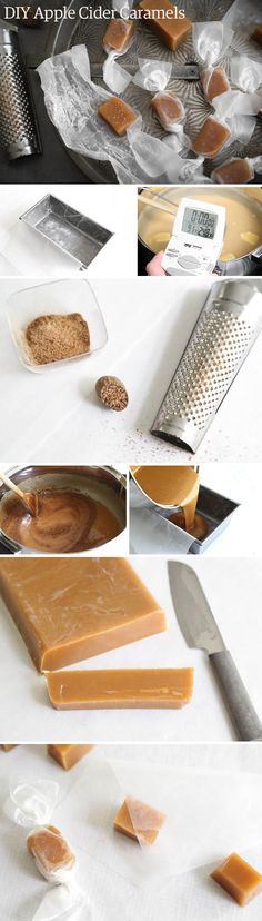 Why not cook up some apple-cider caramels tonight?