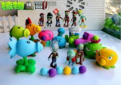 Plants vs Zombies Peashooter Action Figure Toys 10CM in 19 styles - $9.25 -Tag a friend that must get u this! #style #me #throwbackthursdays #1stoptoyshop #toys4life #cool #photo #instafollow #witty #throwbackthursdayy #colors #bestoftheday #instamoment #indigo #love