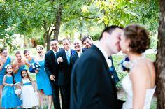 Cute wedding pic idea.