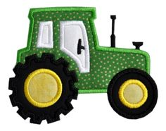 Tractor Applique                                                                                                                                                                                 More