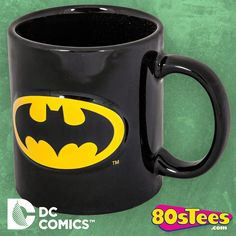 Embossed Batman Mug made by ICUP Inc. in collections: Super Heroes: DC Comics: Justice League: Batman