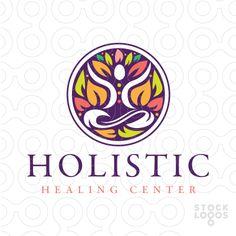Holistic leaf meditation figure