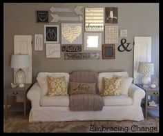 My Living and Dining Room Reveal: A Welcomed NEW Space. Walls: Intellectual Gray, SW