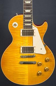 Gibson Custom '58 Les Paul Plaintop Gloss Lemonburst 2013 Used