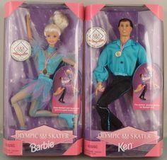 Figure skating Barbie & Ken