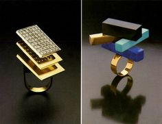 Jewelry by architects: Ettore Sottsass