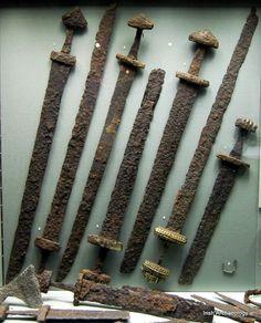 Ирландия Оружие викингов, найденное в Дублине