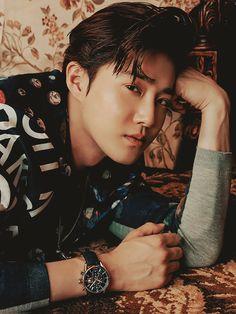 Our leader is grown up men and I love it💞👀 - - - exo weareone universe exol cafeuniverse winteralbum Chen Xiumin Kai Do Chanyeol Suho Baekhyun Sehun Lay dinosaur electric thewar elyxion jongdae minseok jongin kyungsoo pcy junmyon yixing Baekhyun, K Pop, Tao, Exo For Life, Kim Joon Myeon, Exo Official, Exo Ot12, Xiu Min, Kpop Exo