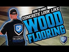 Installing rich, beautiful hardwood floors in your home can light up a space. It can also be extremely costly when doing a home renovation. Concrete Wood Floor, Stained Concrete, Concrete Patio, Cement, Floor Stain, Floor Finishes, Painting Concrete, Patio Makeover, Basement Flooring