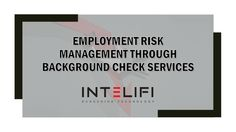 Employers will prevent potential issue through #background_check_services. This leads to increasing the trust among all the employees and from regulatory people as well as with the shareholders and stakeholders.