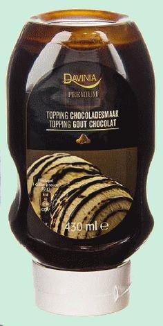 DAVINIA PREMIUM sauce au chocolat 430 ml