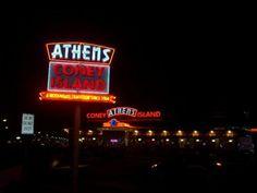 Coney Island restaurant images   Athens Coney Island - Royal Oak, MI - Dining Car Restaurants on ...