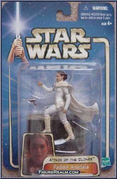 Padme Amidala (Droid Factory Chase) from Star Wars - Saga - Attack of the Clones manufactured by Kenner [Front]