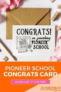 Pioneer school congrats card_pin