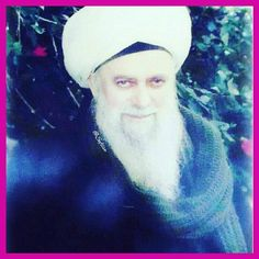 """O People! Say three times, """"O my Lord, I love You!"""" That is so beautiful from servants to Allah. Then no one is going to be depressed as this gives so much happiness to one's heart. ~Shaykh Nazim Adil an-Naqshbandi"""