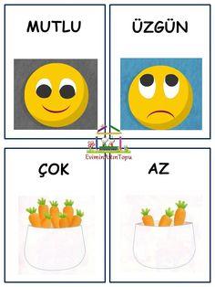 Free Preschool, Preschool Worksheets, Primary School, Pre School, Turkish Lessons, Learn Turkish Language, Home Schooling, Infant Activities, Special Education