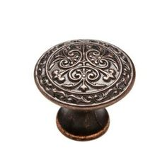 Knobware, 1-1/8 in. Venetian Bronze (or muted nickel) Cabinet Knob, K-5178/45/ZN3/VB at The Home Depot - Mobile