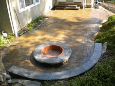 Check out this beautiful patio and fire pit being installed using Cambridge Pavingstones with ArmorTec!