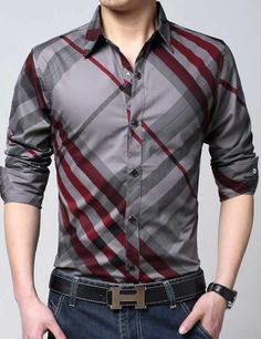 Mountainskin Casual Striped Men Shirts Slim Fit Male Social Shirts Brand Long Sleeve Business Shirt Men Clothes Spring is part of Business shirts men Buy Mountainskin Casual Striped Men Sh - Suit Shirts, Casual Shirts, Men Shirts, Shirt Men, Camisa Slim, Business Shirts, Business Clothes, Business Casual, Latest Mens Fashion