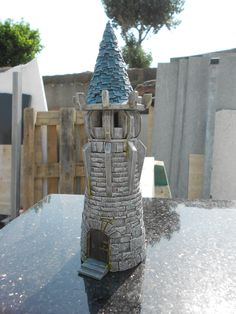 Turret of Empires in Ruins painted by Ghull'ARTS