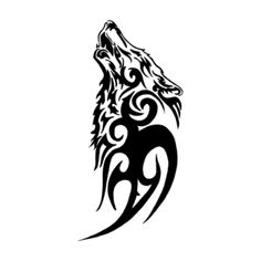 See this and of other temporary tattoo designs. Then test-drive your custom tattoo before committing forever with Momentary Ink featuring Real Teal™. Tattoos Lobo, Tribal Animal Tattoos, Tribal Animals, Body Art Tattoos, Wolf Tattoo Tribal, Wing Tattoos, Tatoos, Diy Tattoo Permanent, Temporary Tattoo