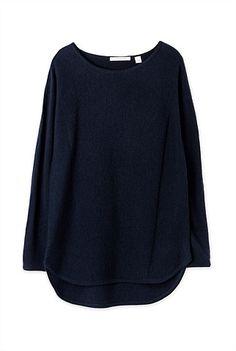 Curved Hem Knit Merino Wool, Knitwear, Jumper, Shop Now, Cashmere, Elegant, Knitting, Sweatshirts, Tricot