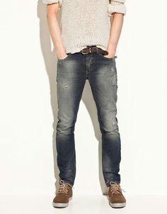 RIPPED JEANS - Jeans - Man - ZARA