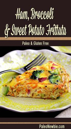 A hearty, healthy and awesome all-in-one paleo frittata that's both savory and sweet. Easy recipe perfect for breakfast or brunch!