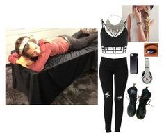 """Backstage With Harry"" by shay-1d ❤ liked on Polyvore featuring Hudson Jeans, BCBGMAXAZRIA, Case-Mate, Dr. Martens, Beats by Dr. Dre and harrystyles"