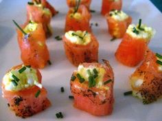 Smoked Salmon with Egg Salad! Looks Delicious!