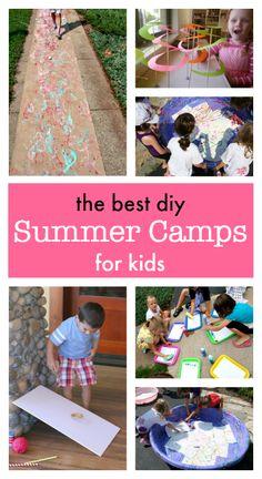 Brilliant diy Summer Camps for kids :: online summer camps for kids :: summer bucket list ideas