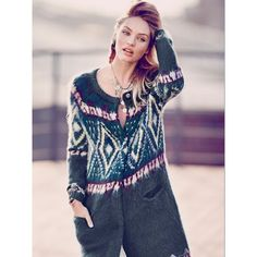Free People Frosted Fairisle Cardigan ($198) ❤ liked on Polyvore featuring tops, cardigans, free people tops, snap cardigan, fairisle cardigan, cardigan top and fair isle cardigan