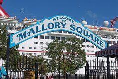 Mallory Square Key West Florida. Sunset Celebration is great!