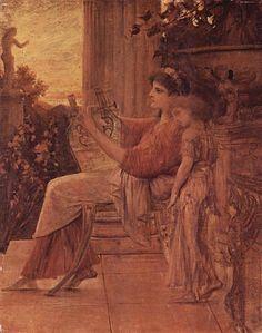 Sappho, 1888 - 1890 - Gustav Klimt
