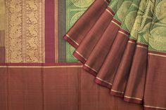 Another authentic Kanjeevaram - combination and rudbraksha motif with animal prints from Kanakavalli 1016818 -at Parisera.com